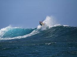 Les passionnés de kite-surf se réjouiront au St Regis
