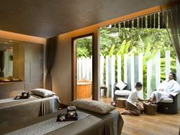 Le spa de l'hôtel 5 étoiles Sukhothai Bangkok en Thailande