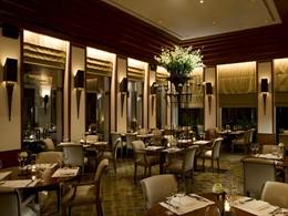 Restaurant de l'hôtel The Sukhothai Bangkok en Thailande