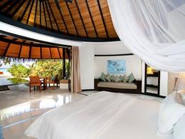 Deluxe Beach Villa with Pool du Sun Siyam Iru Fushi