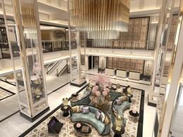 Le lobby et sa sublime décoration