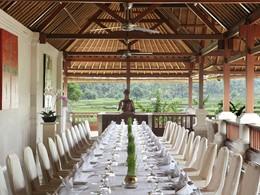 Autre vue du restaurant Angkul Angkul
