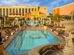 Les superbes piscines de l'hôtel The Venetian aux Etats Unis