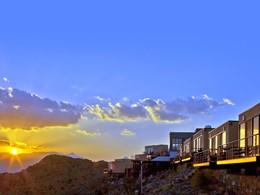 Panoramas exceptionnels depuis l'hôtel The View à Nizwa