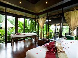 Le spa de l'hôtel 4 étoiles The Vijitt à Phuket