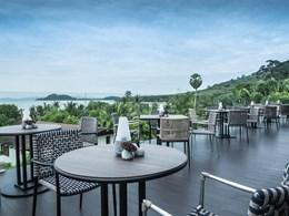 Vue sur la baie de Phang Nga depuis le restaurant Koko