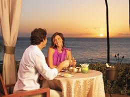 Dîner romantique au coucher de soleil au Westin Maui