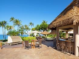 Le Beach Bar de l'hôtel The Westin Maui à Hawaii