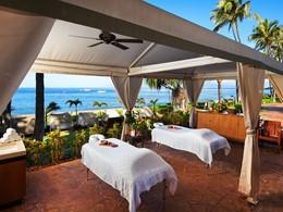 Massage face à l'océan à l'hôtel The Westin Maui