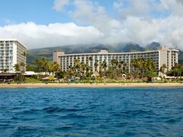 Vue du Westin Maui, situé au bord de la plage de Ka'anapali
