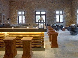 1827 Lounge & Bar de l'hôtel The Westin en Grèce