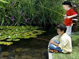Pêche pour les petits au Westin Resort Nusa Dua