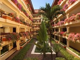 Jardin du Westin Resort situé à Nusa Dua