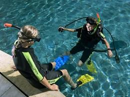 Cours de plongée au Westin Resort Nusa Dua