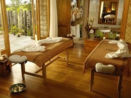 Le spa de l'hôtel 4 étoiles Tikehau Pearl Beach en Polynésie