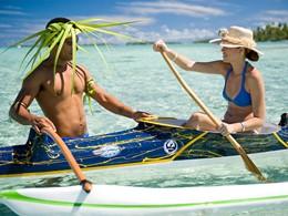 Autre activité nautique à l'hôtel Vahine Island en Polynésie