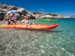 Activité nautique de l'hôtel Valle dell'Erica en Sardaigne