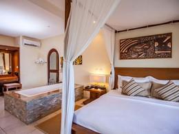 Pool Villa de l'hôtel Valmer Resort aux Seychelles
