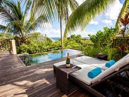 La piscine de la Pool Villa du Valmer Resort