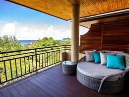 Les chambres du Valmer Resort offrent une vue spectaculaire sur la plage