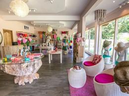 La boutique de l'hôtel Valmer Resort sur l'île de Mahé