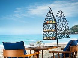 Prenez le thé sur la plage au Vana Belle