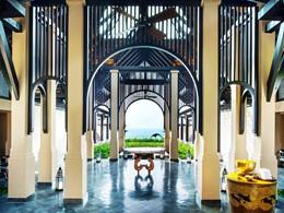 Le lobby du Vana Belle en Thaïlande