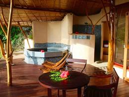 One Bedroom Bungalow Vai Ora & Vai Iti & Jacuzzi® du Vanira Lodge
