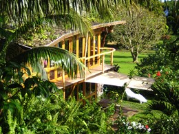 Bungalow Terrasse Lichee du Vanira Lodge à Tahiti
