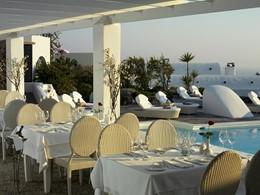 Restaurant Pergola de l'hôtel Vedema Resort
