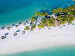La plage et son étendue de sable blanc