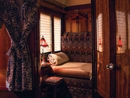L'interieur d'une cabine