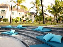 L'amphithéâtre de l'hôtel
