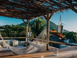 Magnifique vue depuis le rooftop bar View du Veranda Tamarin