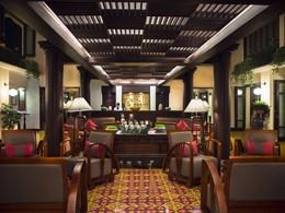 Le lobby du Victoria Hoi An Beach Resort au Vietnam