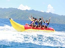 Activité nautique de l'hôtel Vila Ombak à Lombok