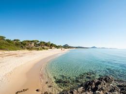 La plage immaculée