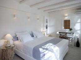 Cycladic Standard Room du Villa Marandi Luxury Suites en Grèce