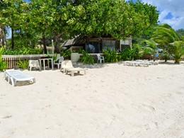 Autre vue de la plage de la pension Village Temanuata