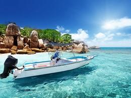 Offrez vous une balade en mer pour découvrir les Seychelles