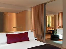 La Chambre Cozy du W Barcelone Hotel en Espagne