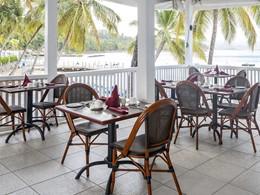 Le restaurant Dragonfly du Windjammer Landing