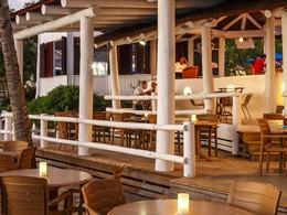 Le restaurant Jammer's du Windjammer Landing