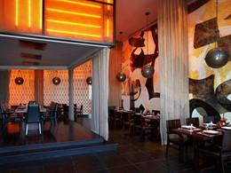 Le restaurant Atayeb de l'hôtel Yas Viceroy