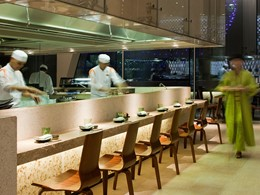 Le restaurant Kazu du Yas Viceroy à Abu Dhabi
