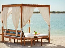 La plage de l'hôtel Yas Viceroy à Abu Dhabi