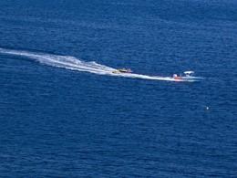 Activités nautiques sur l'île de Paros