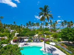 Le Zanzibar White Sand est niché dans un décor naturel