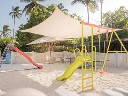 Les petits auront droits à de nombreuses activités au White Sand