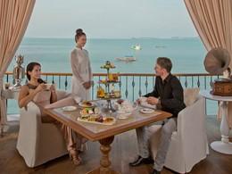 Petits délices à l'heure du thé au Zazen Boutique Resort